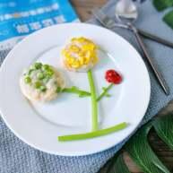 双色磷虾饼