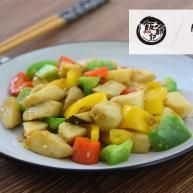 蚝油杏鲍菇,用蚝油做最鲜美且有嚼劲的的素食