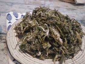 白蒿拌面菜