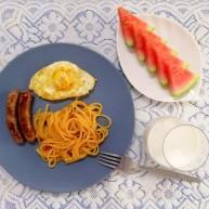 脆皮肠~早餐肠