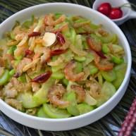 西葫芦炒海米