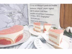 粉色西柚酸奶酪慕斯    Pinkkk Grapefruit&SourCream Mousse