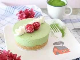 和烤箱说Bye Bye,搅拌搅拌就能吃的蛋糕!给这春光添抹绿