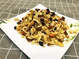 水果坚果燕麦片