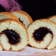 树莓蛋糕卷