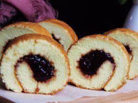 樹莓蛋糕卷