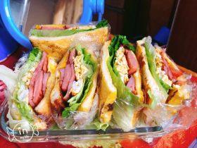 营养美味三明治