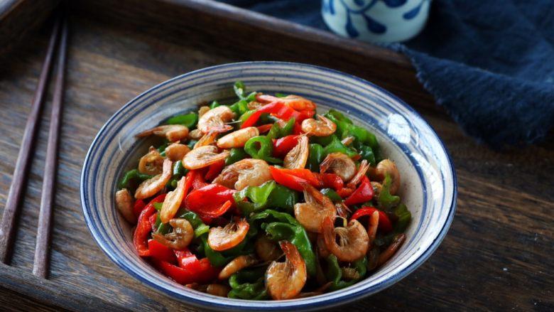 辣椒炒小虾