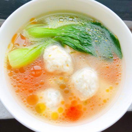 辅食计划+蔬菜肉丸汤