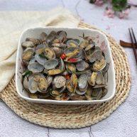 豆瓣酱炒花蛤