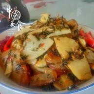 农家干菜油焖春笋