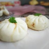 #辅食计划#香软流汁~牛肉蒸包