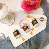 西兰花米饭寿司卷