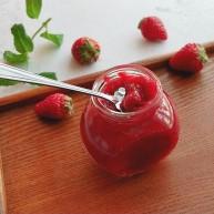 自制无添加草莓酱