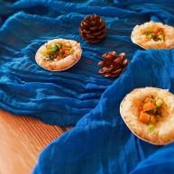 辅食:时蔬米饭挞