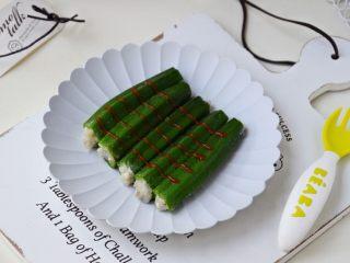 鳕鱼酿秋葵,成品