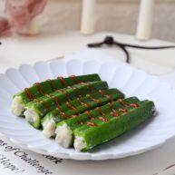 鳕鱼酿秋葵
