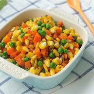 瓜子仁炒玉米