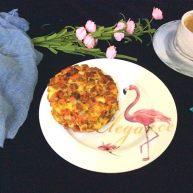 菌类料理+吐司边蟹味菇鸡蛋饼
