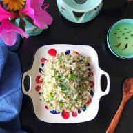 一起來品嘗春天的味道-野菜炒飯