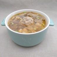 虾仁猪肉豆腐丸子