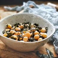 海苔芝麻烤鷹嘴豆