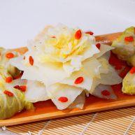 仪式感的宴席菜-莲花翡翠卷
