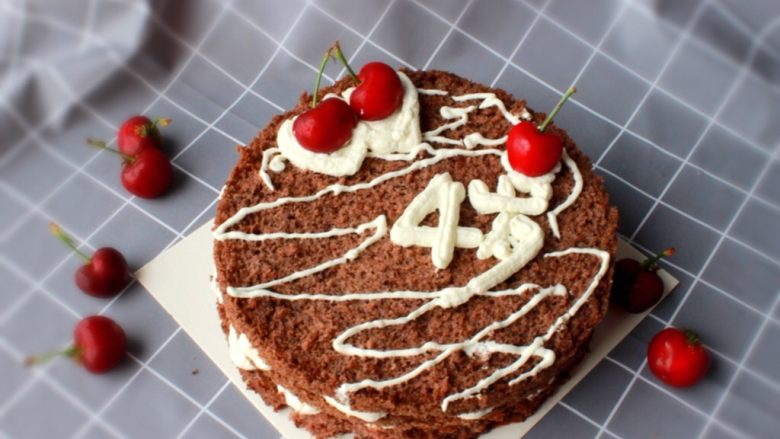 可可粉海绵蛋糕