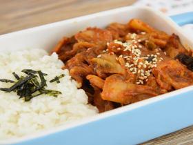 辣白菜炒五花肉—午餐把韩式料理带进办公室