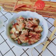 快手菜,空气炸锅版紫苏排骨
