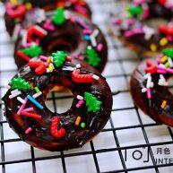 巧克力甜甜圈(花生油版)