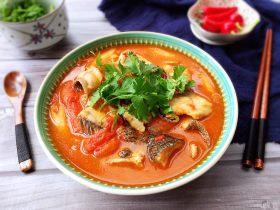 了不起的小番茄+ 酸汤乌鱼片(冬阴功汤版)