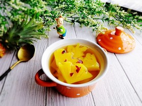 菠萝季----菠萝糖水