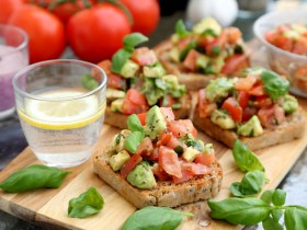了不起的小番茄+意式烤面包片Bruschetta