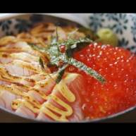 三文魚子蓋飯