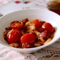 了不起的小番茄~小番茄炒洋葱香肠