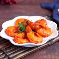 #了不起的小番茄# 番茄汁大虾