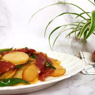 广式腊肠炒土豆