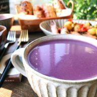 紫薯燕麦米糊