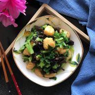 黑木耳豆泡小青菜