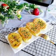快手早餐+葱香黄金馒头片