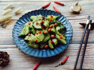凉拌菜~拍黄瓜,成品图