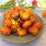 烤肉香辣酱煎小土豆