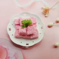 火龙果椰奶冻