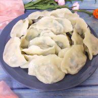 绿豆芽大肉饺子