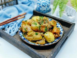 #做妈妈的拿手菜#红烧鸡块炖小土豆