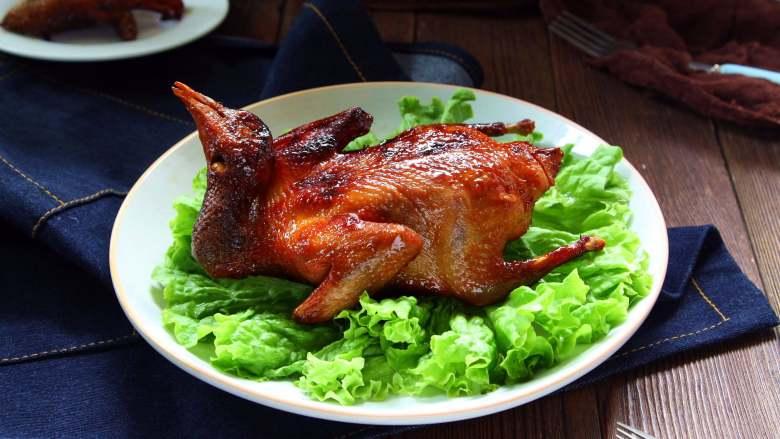 奥尔良蜜汁烤乳鸽