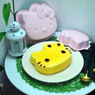 8寸kitty黄油蛋糕