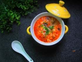 豆腐酸辣汤