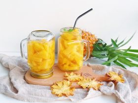 一颗菠萝的分身术之糖水罐头/烤菠萝片